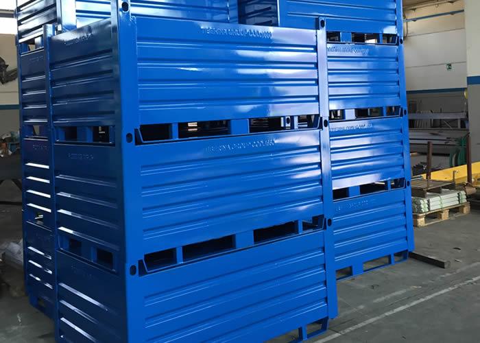 Contenitori Industriali Ferro.Contenitori Metallici Per L Industria Ed Elementi Costruttivi