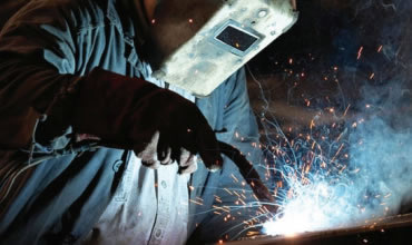 Servizio professionale di saldatura metalli